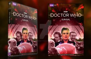 Doctor Who - Survival DVD Cover by GrantBattersby