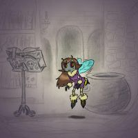 Angela's Magic Lesson - What's the Buzz? by Mr-DNA