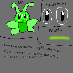 Ori: Butterfly (character ref) by Glazerules2003