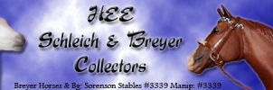HEE Schleich and Breyer Collector - Banner ~2017~ by GabriellasFantasy