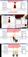 How to put heels on mmd models by chocosunday
