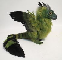Feather-Raptor: Iguana by kimrhodes