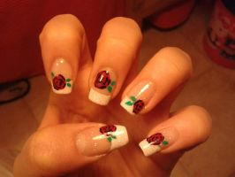 Nail art n.37 by megalomaniaCi