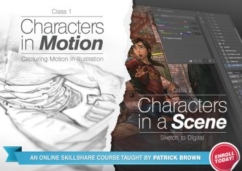 Join my online class on Skillshare by PatrickBrown