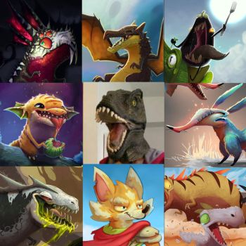 ArtVsArtist 2! by Save-The-Dinosaurs