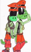 Croc And Celia by Reptilian-Angel