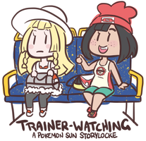 For Flop: Trainer-Watching by RaineyJ
