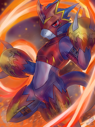 [Digimon] Scorch! by Zeitzbach