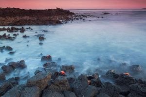 Galapagos Sunset by StephiPhotography