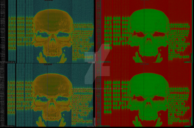 Digital production Skull by SauronTheMagnificant