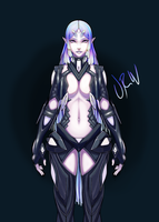 Xenoblade - Space Elf 2 by URW