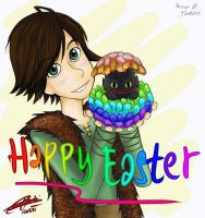 HTTYD :: Happy Easter by 963Q-karin