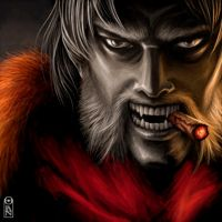 Sabretooth by oleolah