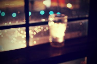 Bokeh glass. by Anitamon