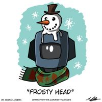 Frosty Head by Adam-Clowery