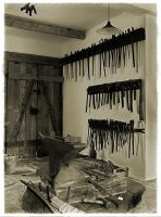 old blacksmiths shop by liebeSuse