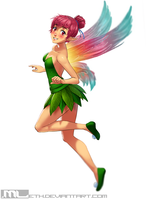 Erylia finds Tinkerbells outfit! by MLeth