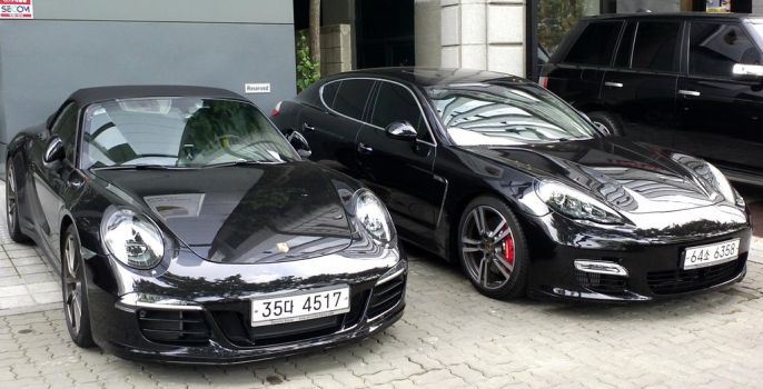 Turbo Models From Porsche by toyonda