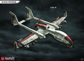 Wing Drone by DNA-1
