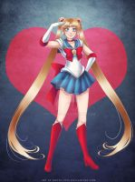 Sailor Moon: 1 - 2 - Reboot by Roots-Love