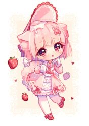 [+Video] Commission - Sweet Pink by Hyanna-Natsu