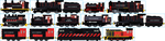 The Sodor Ironworks Fleet by Galaxy-Afro