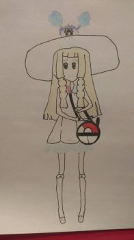 Lillie and Nebby by RandomHope16