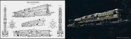 Utility Class Large Transport Concept by Nym182