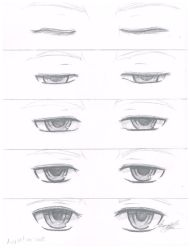 Eyes opening sequence by Nacht-Kniver