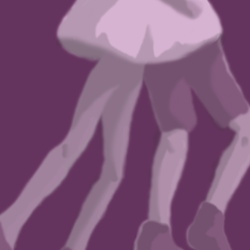 Atrophied legs by EnthrallinglyBadArt
