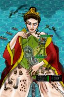 Old: Civ5 Giantess by Spuski