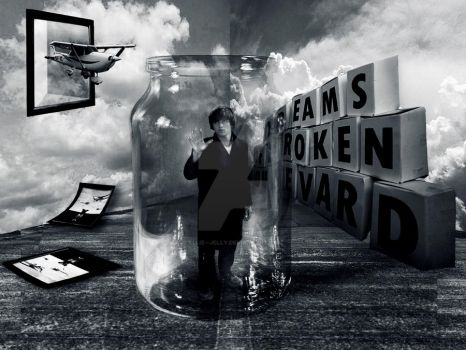 Trapped in a Jar by Ellie--Jelly