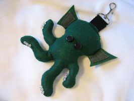CTHULU Backpack Baddie Clip On by tacksidermia