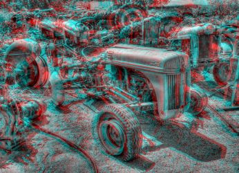 Ford Tractor Graveyard by DDDPhoto