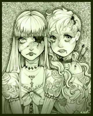 Puppet and Voodoo doll by GilbertsBeer
