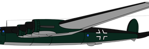 TottenKoft the Me 364 Amerika Bomber by KirovRampager