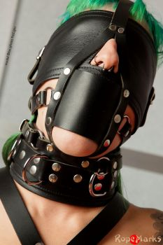 Bliss, in leather - part 2/3 by ropemarks