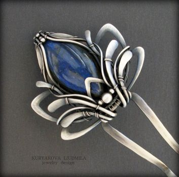 BLUE LOTUS by KL-WireDream