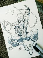 Spiderman Homecoming by rogercruz