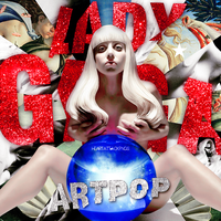 CD|Artpop ( Deluxe Edition)|Lady Gaga. by Heart-Attack-Png