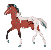 N3043 Padro Foal Design for DarkestNation by casinuba