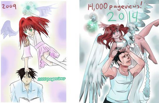 Then And Now by shirgane777
