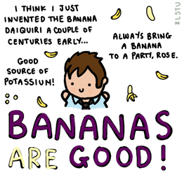 Prize: Bananas are good. by LetsSaveTheUniverse