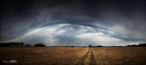 This year's first cloud edge by NorbertKocsis