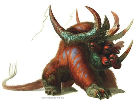 Worm Faced Beast by Davesrightmind