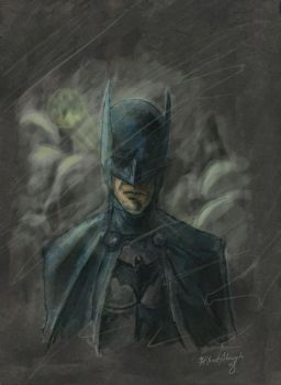Batman by yusef-abonamah