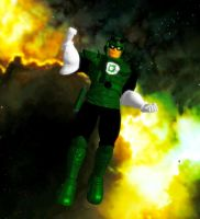 Captain Green Falcon Lantern by WOLFBLADE111