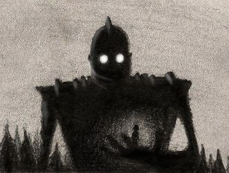The Iron Giant by RobtheDoodler