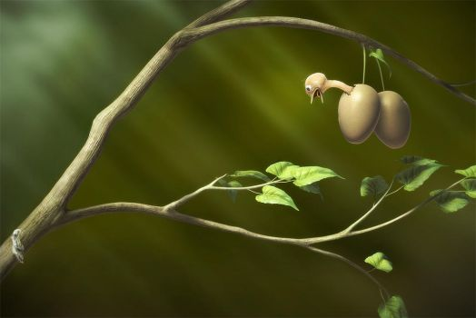 Egg tree by Alfredsson