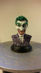 Joker Bust  by Humanitron